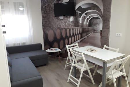 Apartamento acogedor en tierra vinos