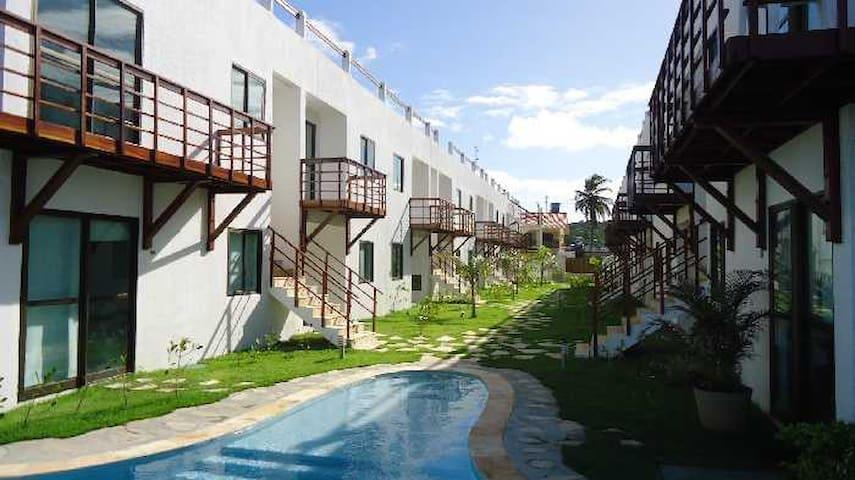A melhor vista Beira Mar de Gaibú com Piscina
