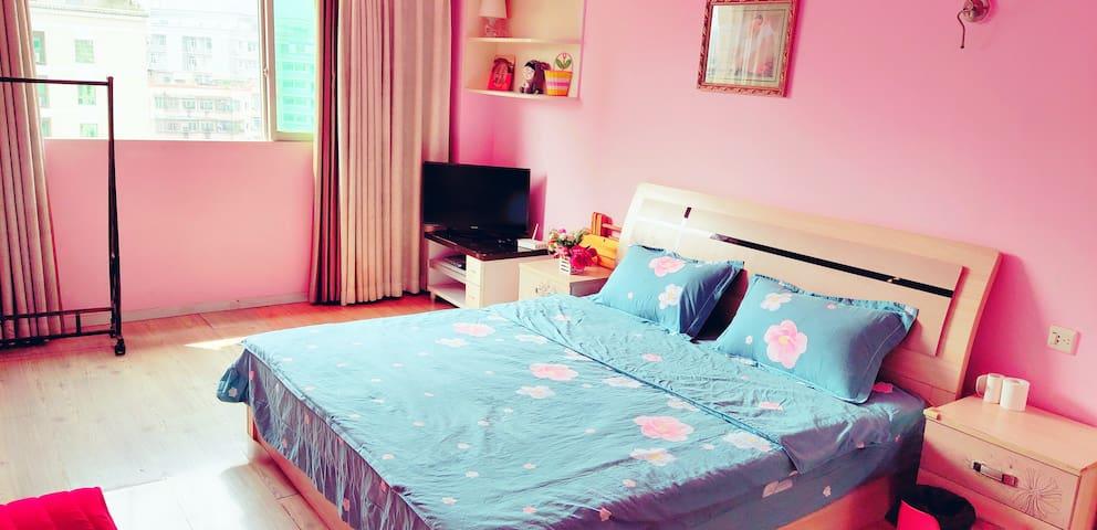 【刘团长民宿】小清新一居室公寓