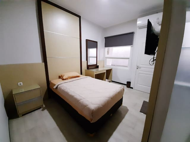 Green Nakula Residence Single Bed