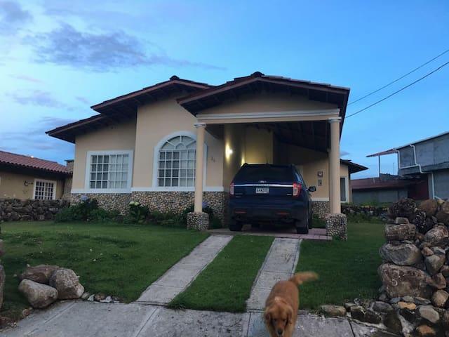 Casa en Boquete -Panamá