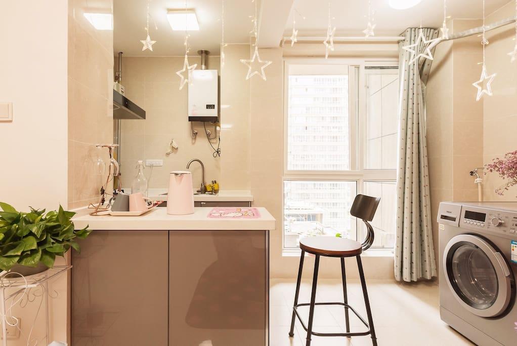 开放式厨房 小吧台