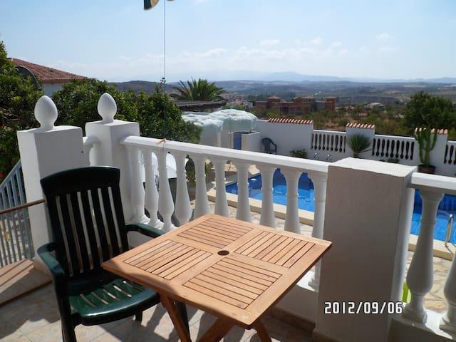 Andalousie,Location Villa avec piscine à Sorbas - Sorbas - Huis