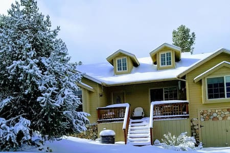 Our mountain retreat on Linden Drive