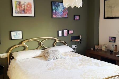 Confortable habitación doble & baño privado