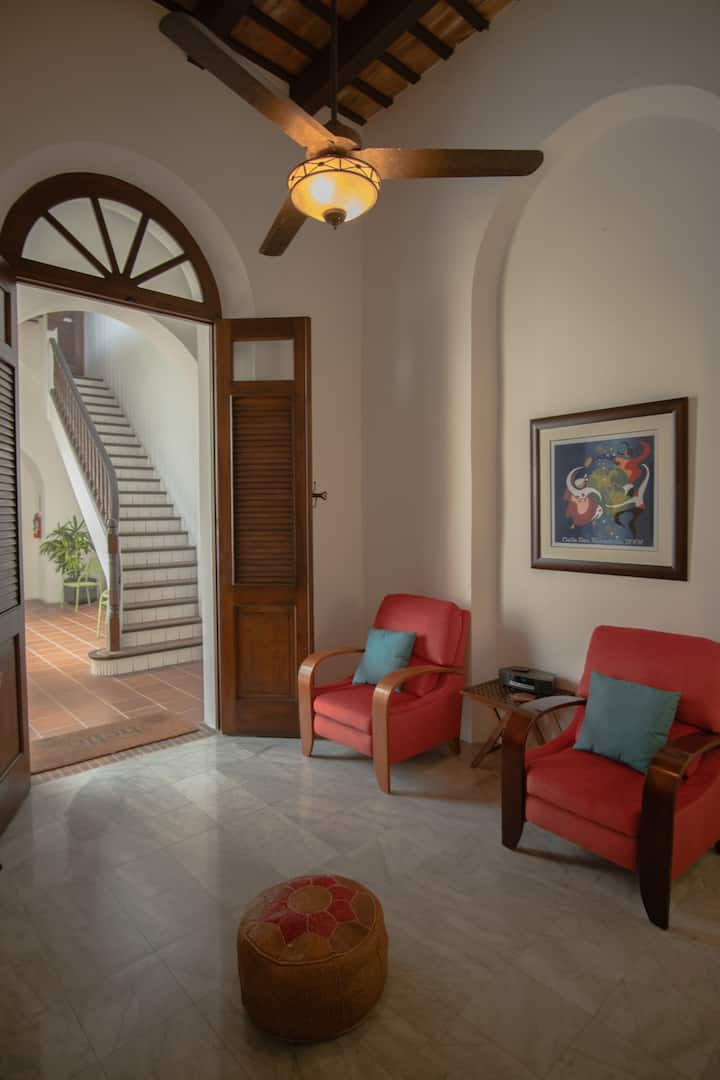 Tropical Oasis in the heart of Old San Juan