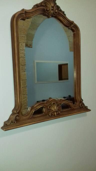 Specchio nell' ingresso