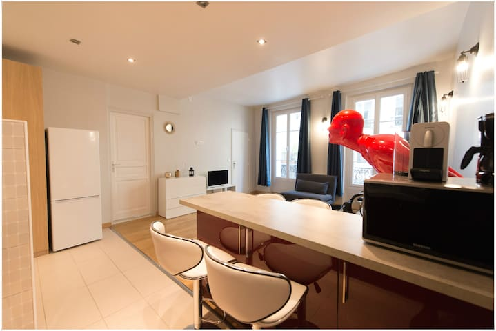 Cozy & bright 1 bedroom Marais Paris center