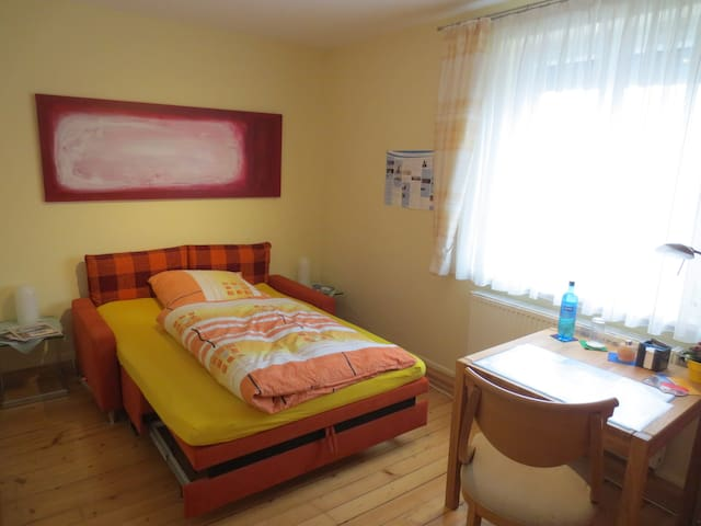 Room nearby the lake Constance (600 meters away) - Friedrichshafen - Apartemen