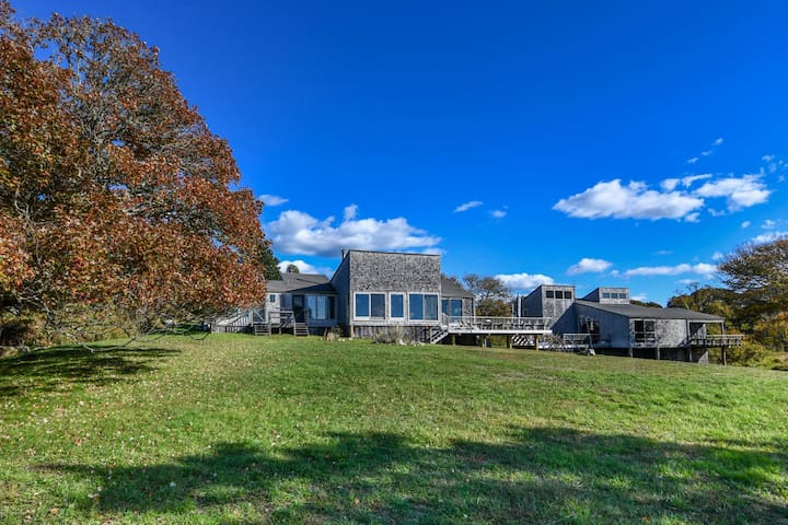 Large Menemsha Waterfront Compound