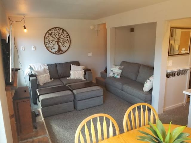 Popular, Newly Renovated, Close to X-country, lodge, shuttle. 2BR/1BA. TAM10
