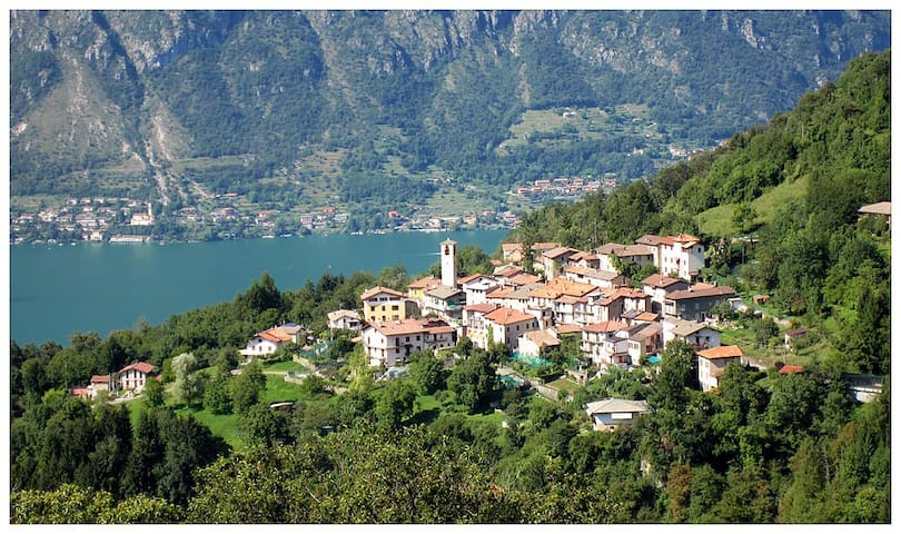 Villetta sopra lago di Lugano (15€/day per person)