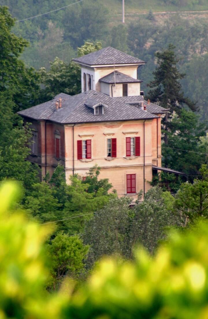La Villa delle Favole nella verde Val Tidone