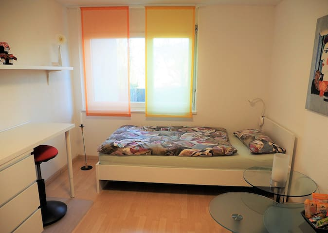 nice, bright studio in the middle of switzerland