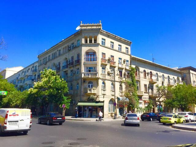 В самом центре города ! CITY CENTER - Baku