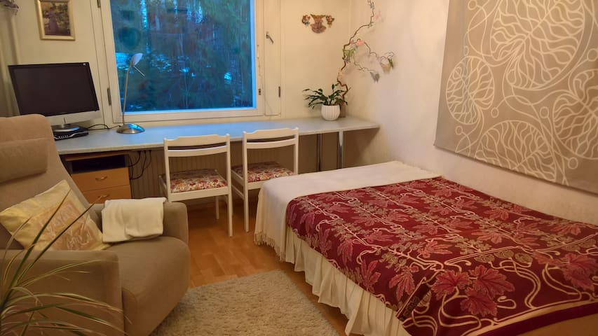 Nice and cosy room near city center - Tampere