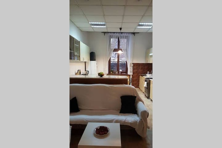 Spacious private room 4 mins from the Main Square - Krakov - Byt