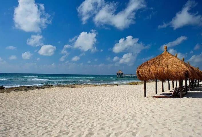 Rivera Maya, Cancun - Excelente Departamento x 4