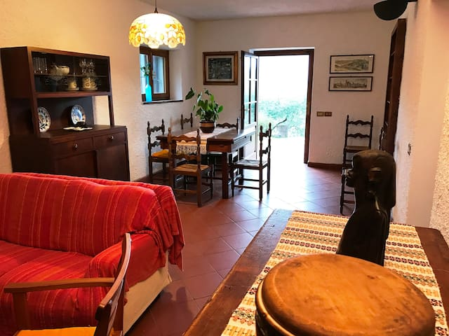 La Casa sul Colle, surrounded by Nature and Quiet. - Chifenti - Apartament