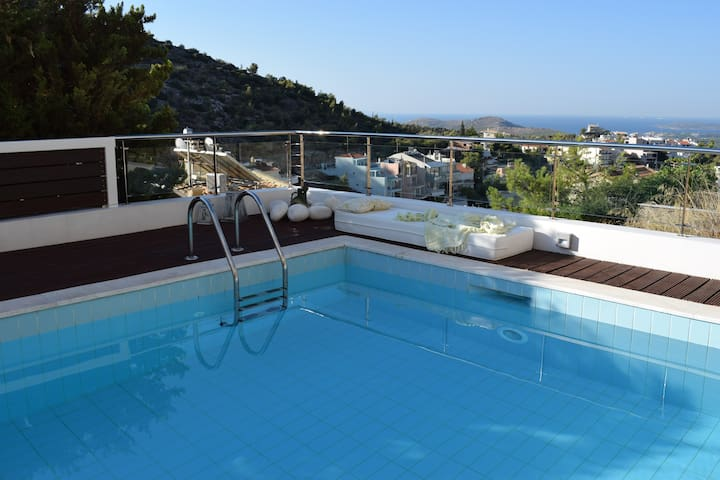 Panorama Deluxe Suite 40 m2 - Voula