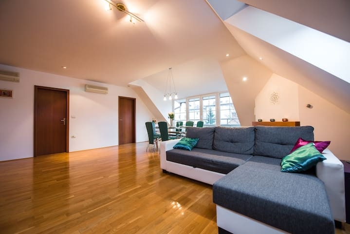 Stylish apartment in Villa Prule - Ljubljana - Apartment