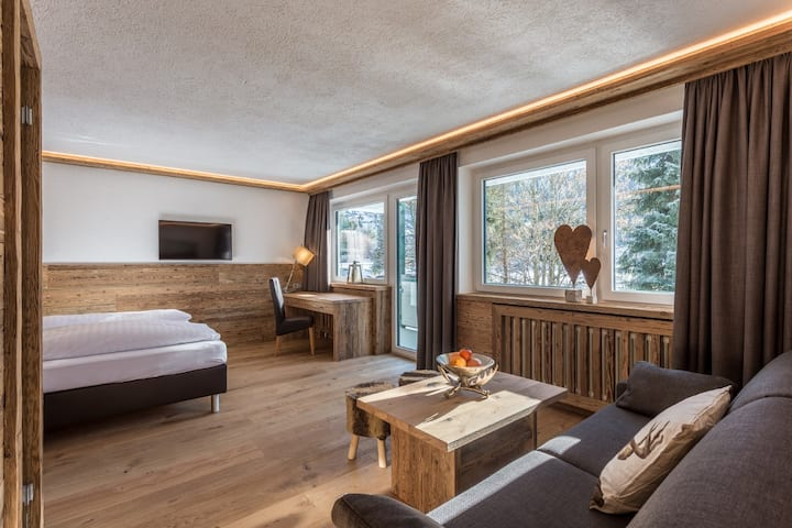 Chalet Style 1-room Suite with Infraredsauna 42m²
