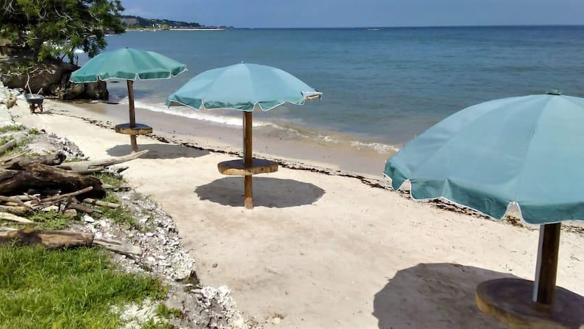 The best beach in Cartagena +Breakfast