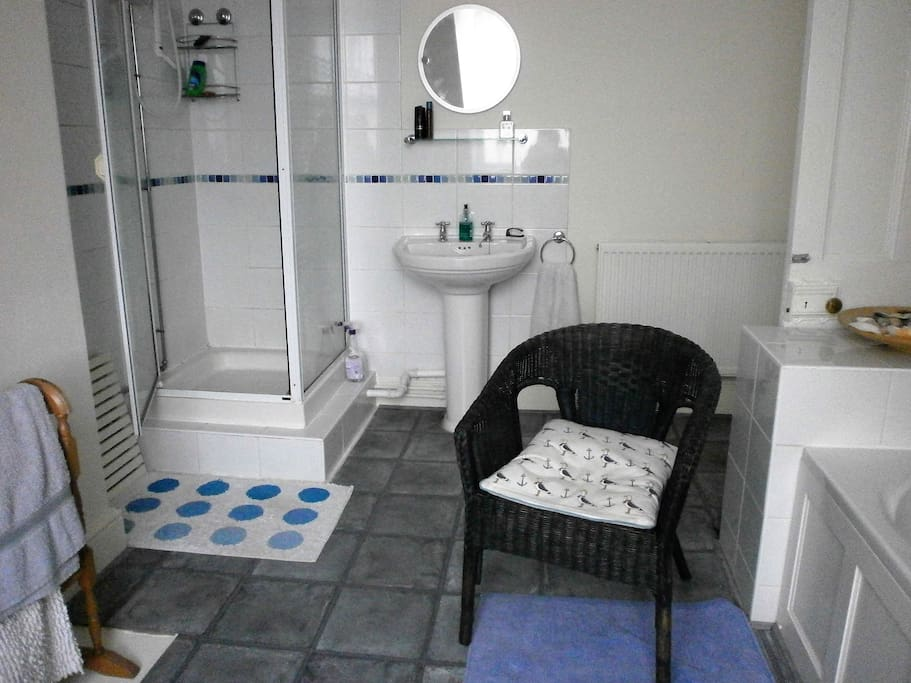 private bathroom with shower/bath