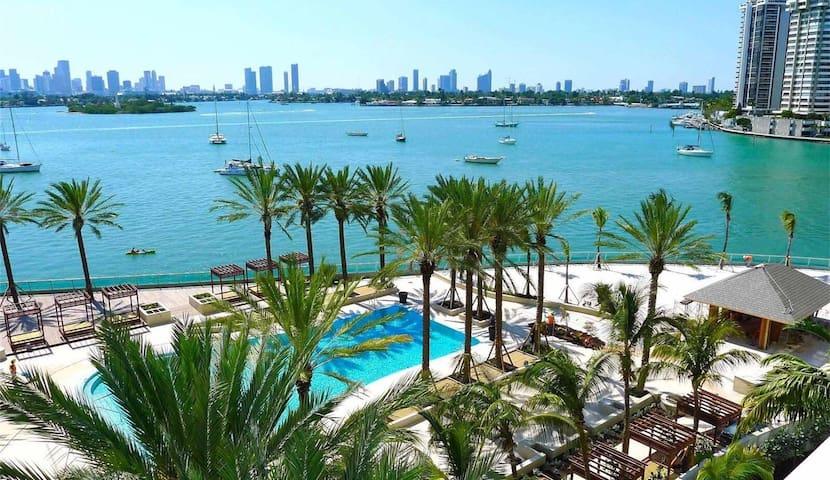 South Beach Amazing Bay View - Miami Beach