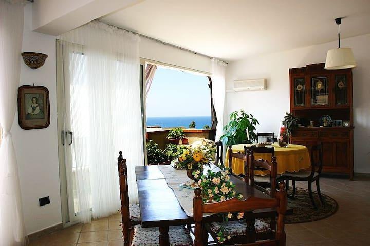 ATTICO PANORAMICO - Trappeto - Wohnung