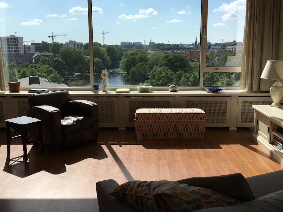 You'll have an amazing view from the apartment!