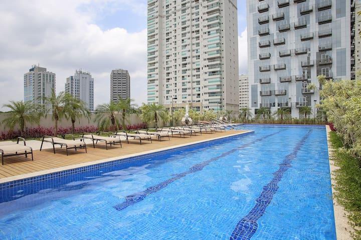 Studio Moderno e Aconchegante em SP - São Paulo - Apartament