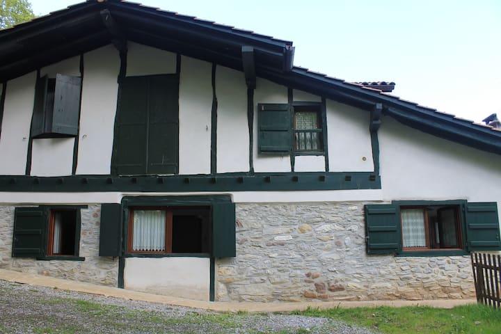 Apartamento en caserío rehabilitado Urdazubi-Urdax - Leorlas - Leilighet
