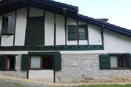 Apartamento en caserío rehabilitado Urdazubi-Urdax - Leorlas - Byt