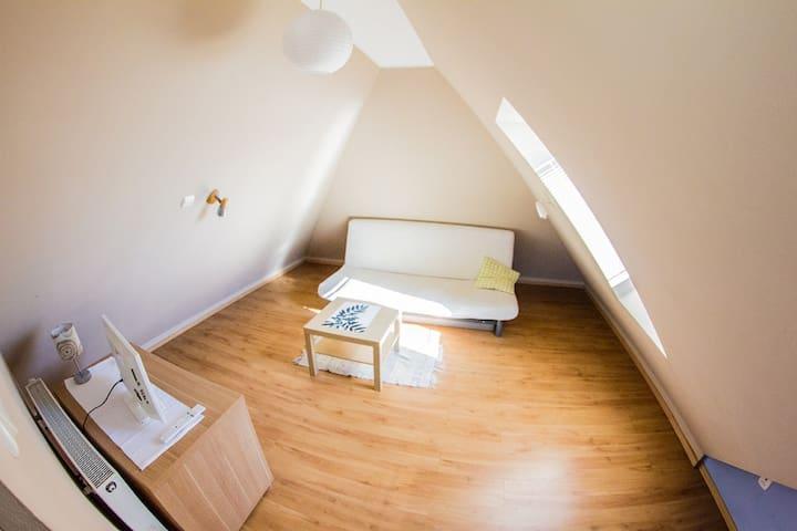 POKÓJ PODDASZE / 1 łóżko 2 gości/ Sobieszewo
