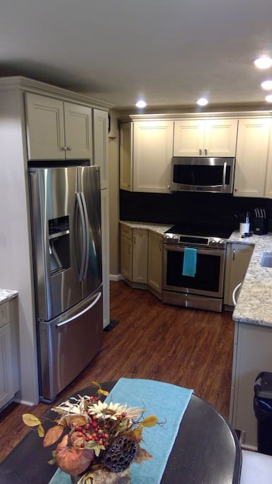 Gourmet kitchen to prepare all of your meals.