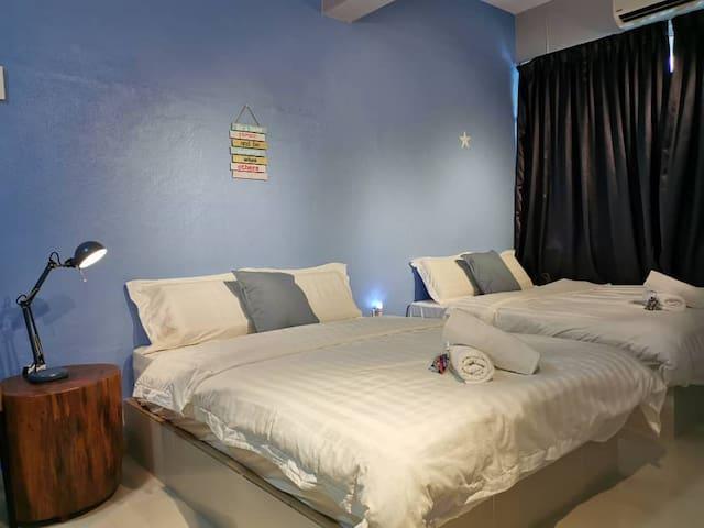 Sentosa Guesthouse @ Bukit Mertajam - Family Room