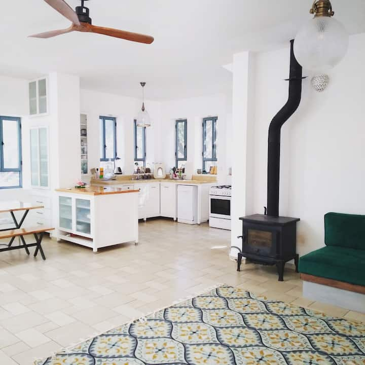 Modern Farm House In The Forest