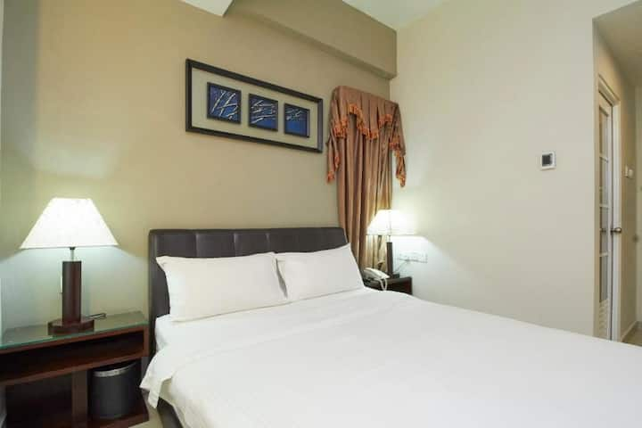 Cozy Standard Double at Kepong Hotel