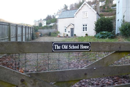 The Old School House - in the centre of Lynton - Lynton - Haus