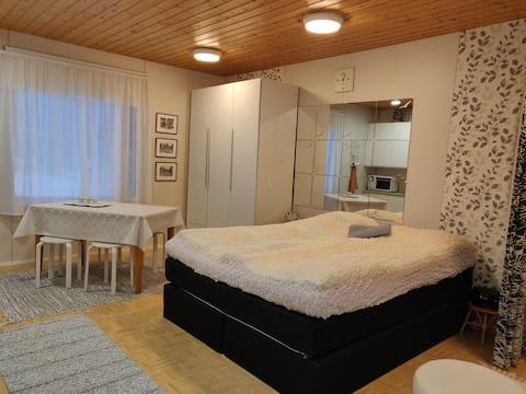 Apartament confortabil și liniștit în curte