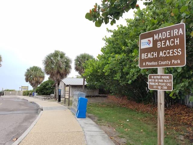 Beach Access across the street