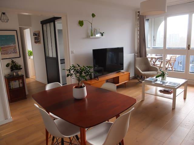 Bel appartement rénové vue Loire exceptionnelle