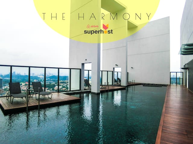 ✯NËW✯ The Harmony 100Mbps WiFi 20min to KLCC