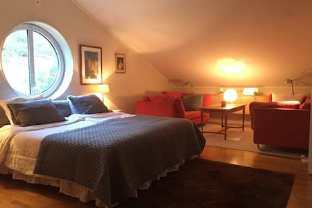 Room in exclusive home by a lake 2 - Täby - Haus