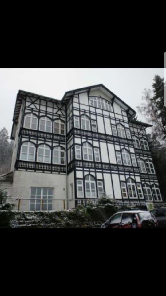Schönes altes Fachwerkhaus direkt am Waldrand