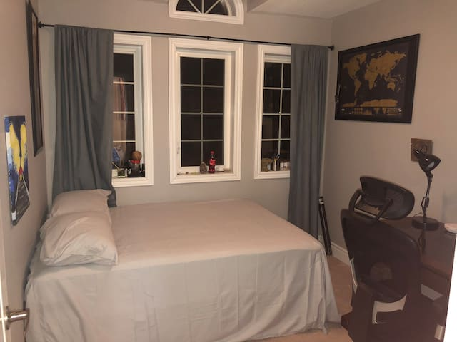Double Sized Bed w/ Study Desk near Durham College