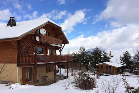 Chalet La Céüzie, Hautes-Alpes - Manteyer - Almhütte