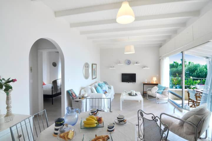 Beachfront house with 2 bedrooms