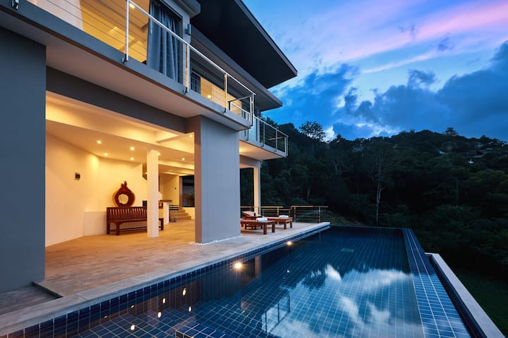 Entire floor with 3-bedrooms on villa Siam View - Ko Samui - Lägenhet